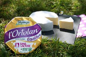 Le fromage sans lactose Ortolan Équilibre, le plaisir du fromage